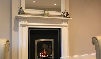 Canford heath- False chimney and new fireplace