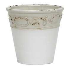 SCAVO COLORE Cachepot Vase Planter Small Heavily Distressed Fully