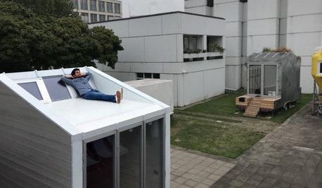 小さくても豊かな暮らし。「タイニーハウス」の量産化を目指す若手建築家