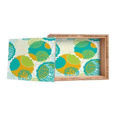 Deny Designs Karen Harris Brandywine Falls Citrus Incarnation Storage Box