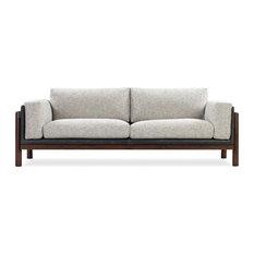 Nordic Fusion Sofa, Cliff/Black