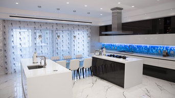 A luxury apartment by Agir Electrical Solution Inc.