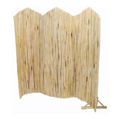 Flexible Bamboo Screen With Stand