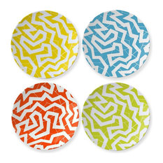 Cooper Hewitt 'Spinne' Coupe Plate, Set of 4