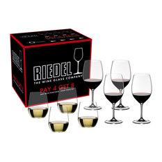 Riedel - Riedel Vinum Cabernet Sauvignon Merlot Bordeaux and  quot;O quot; Viognier Chardonnay Pay -