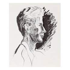 Eve Nethercott, George Wagner, P5.53, Ink Drawing