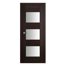 Milano Doors - Milano-41X Wenge Melinga Interior Door, 30x80, Door Slab Only - Interior Doors