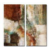 Abstract 2-Piece Canvas Wall Art
