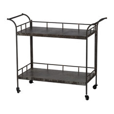 Quinby 2-Tier Decorative Cart