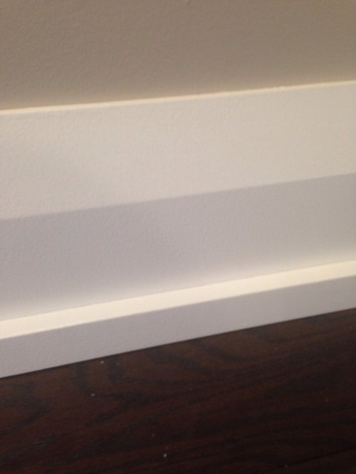 Baseboards Instead Of Quarter Round