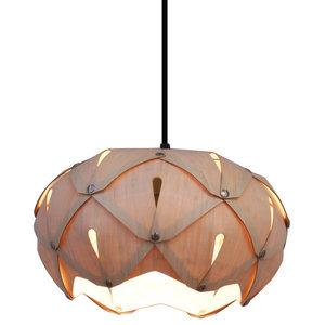 Cynara Wood Lampshade, Bamboo, Medium, Classic
