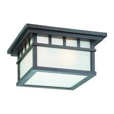 Dolan Designs 9119-34 Barton Outdoor Ceiling Light In Olde World Iron