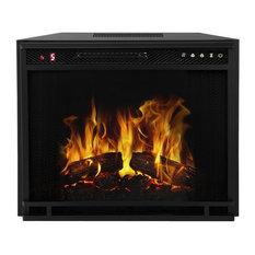 "Regal Flame 28"" Flat Ventless Heater Electric Fireplace Insert"
