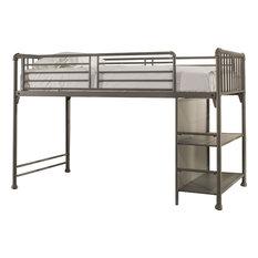 Hillsdale Furniture - Brandi Junior Loft, Stone - Loft Beds
