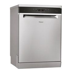 Whirlpool WFC3C24PXUK Full Size S/S Freestanding 14-Place Settings Dishwasher