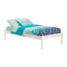 Atlantic Furniture Concord Twin XL Platform Bed in White