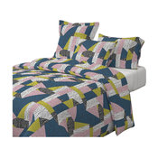 Postmodern Puzzle No. 1 80S Cotton Duvet Cover, King