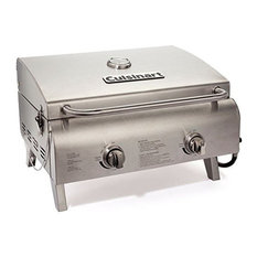 Tabletop Grill, Chef's Style Stainless Burners