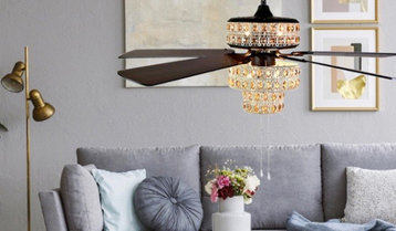 UP TO 65% OFF Ceiling Fans and Lighting