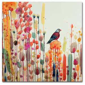 Sylvie Demers Joie De Vivre Canvas Art Contemporary Prints And Posters By Trademark Global