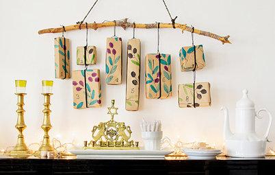 DIY: Create a Nature-Inspired Hanging Calendar for Hanukkah