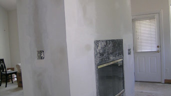 Drywall plastering and sanding