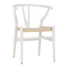 Fer Beechwood Chair, White