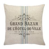 French Grain Sack Linen Throw Pillow