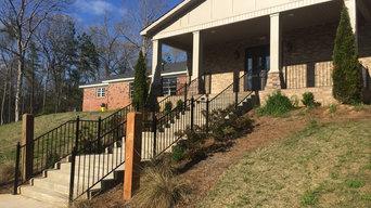 Chruch handrails
