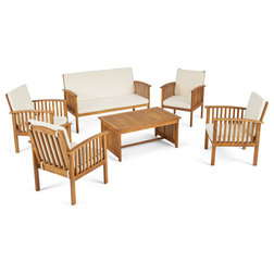 Transitional Outdoor Lounge Sets by GDFStudio