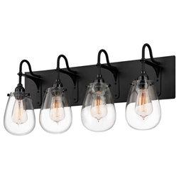 Bathroom Light Fixtures Black bathroom lighting black - bathroom design concept