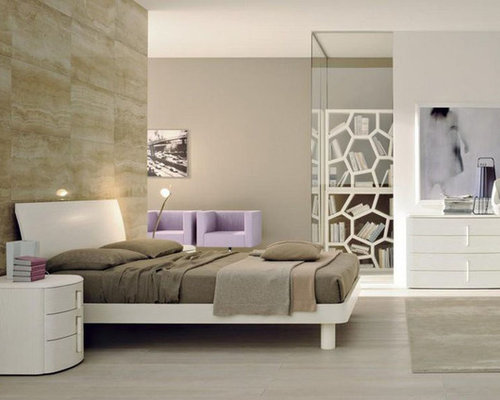 Made in Italy Wood Modern Master Bedroom - Beds