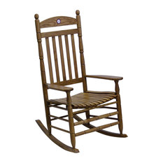 Hinkle Chair, Alabama Maple Collegiate Rocking Chair by Hinkle Chair Co Inc