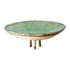 lazy susan usa lazy susan lzs468002 gilded sea bowl large decorative