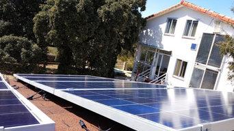 Generación de energía eléctrica con placas solares