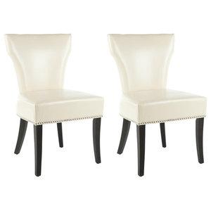 Safavieh Karolyn Dining Chairs, Set of 2, Cream