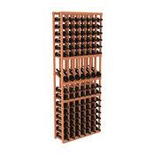 Wine Racks America 7 Column Display Row Wine Cellar Kit, Redwood, Unstained