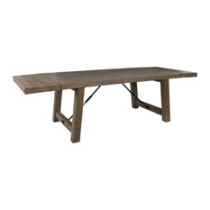 "Tuscany Reclaimed Pine 82"" Extension Dining Table by Kosas Home"