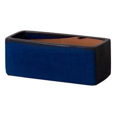 Window Box Planter, Blue, Small