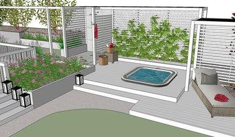Planung / Visualisierung eines neuen Gartens (freistehendes Einfamilienhaus)