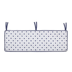 Mickey Mouse, Crib Rail Guard Cover With Ties