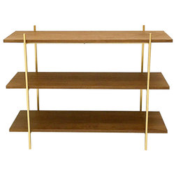 Midcentury Bookcases by California Modern Woodworks