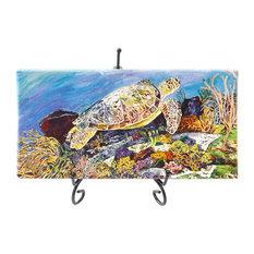 Mini Giclees, Oceans, Layne's Turtle