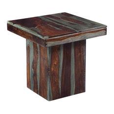 End Table, Sheesham Highlight Wash