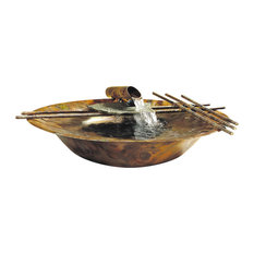 Copper Nature Bowl Water Fountain