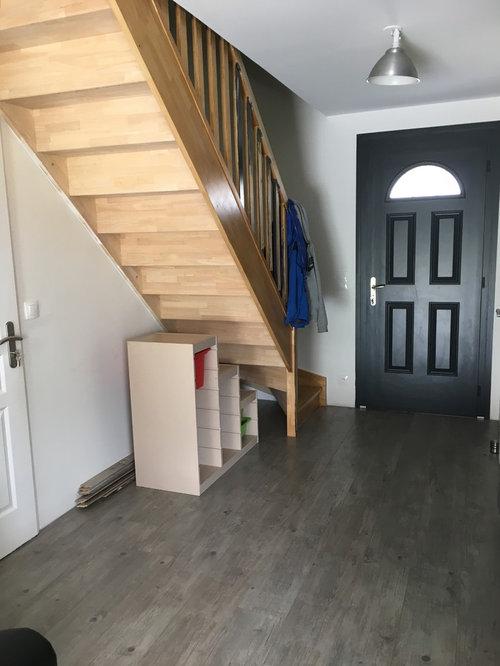 Aménagement entrée + escalier