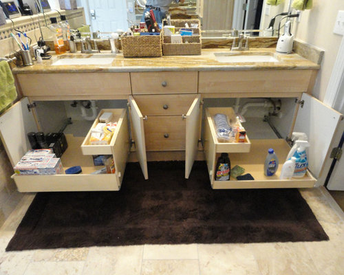 Bathroom Pull Out Shelves Cabinets