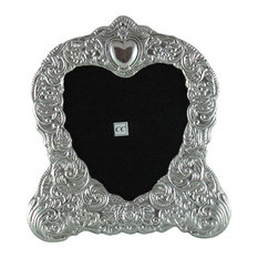 sterling silver 5x5 picture frame heart picture frames