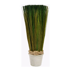 Artificial Desktop Grass Stone Pot