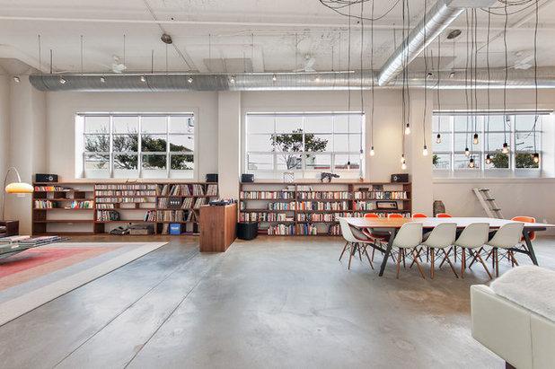 Industrial Sala de estar by Tal Klein Real Estate